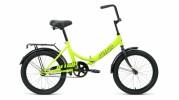 Велосипед 20' складной ALTAIR CITY 20 светло-зеленый/черный, 14' RBKT0YN01004