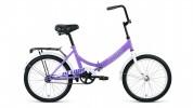 Велосипед 20' складной ALTAIR CITY 20 фиолетовый/серый, 14' RBKT0YN01007