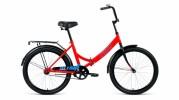 Велосипед 24' складной ALTAIR CITY 24 красный/голубой, 16' RBKT0YN41006