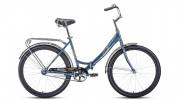 Велосипед 26' складной FORWARD SEVILLA 26 1.0 серый/серебро, 18,5' RBKW0RN61003