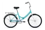 Велосипед 24' складной FORWARD VALENCIA 24 2.0 мятный/серый, 6 ск. 16' RBKW0YN46005