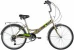 Велосипед 24' складной NOVATRACK TG серый, 6 ск. 24FTG6SV.GR20