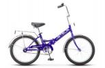 Велосипед 20' складной STELS PILOT-310 фиолетовый, 1 ск., 13' Z011 LU075562