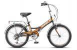 Велосипед 20' складной STELS PILOT-350 серый 2019, 6 ск., 13' Z011 LU079559