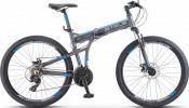 Велосипед 26' складной, рама алюминий STELS Pilot-970 MD диск, антрацит 2020, 21 ск., 17,5' V022