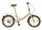 Велосипед 20' суперскладной NOVATRACK AURORA бежевый, 3 ск., Shimano Nexus 20FAURORA3N.BE20