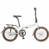 Велосипед 20' суперскладной NOVATRACK NEXUS белый, 3 ск., тормоз V-brake, 20FATG3NV.WT20