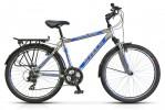 Велосипед 26' гибрид, рама алюминий STELS NAVIGATOR-700 синий металлик/черный, 21 ск., 19,5'
