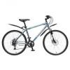 Велосипед 26' хардтейл, рама алюминий STINGER ELEMENT D диск, серый, 18ск. Х58468-K (17-З)