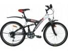 Велосипед STINGER 26' двухподвес, BANZAI черый, 16' 26 SFV.BANZAI.16 BK8