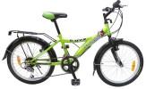 Велосипед 20' хардтейл NOVATRACK RACER зеленый, тормоз V-brake, 12 ск. 20 SH 12 V.RACER. GN 7 (20)