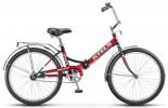 Велосипед 24' складной STELS PILOT-710 черный/красный, 16' Z010 LU070369