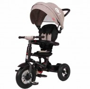 Велосипед 3х-колесный складной RITO Q-Play 10'/8', своб. ход пер. колеса, накл.спин., серый QA6BJ