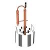 Самогонный аппарат-дистиллятор из меди CUPRUM & STEEL Omega 10 л