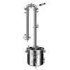 Самогонный аппарат-дистиллятор Добрый жар Абсолют 30 л 7 трубок, сталь