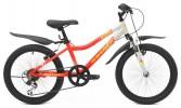 Велосипед MAVERICK 20' хардтейл, рама алюминий, D 37 AL красный-белый, 6 ск.
