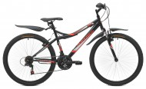 Велосипед MAVERICK 26' хардтейл, X 16 черный-красный, 21 ск. (19-З)